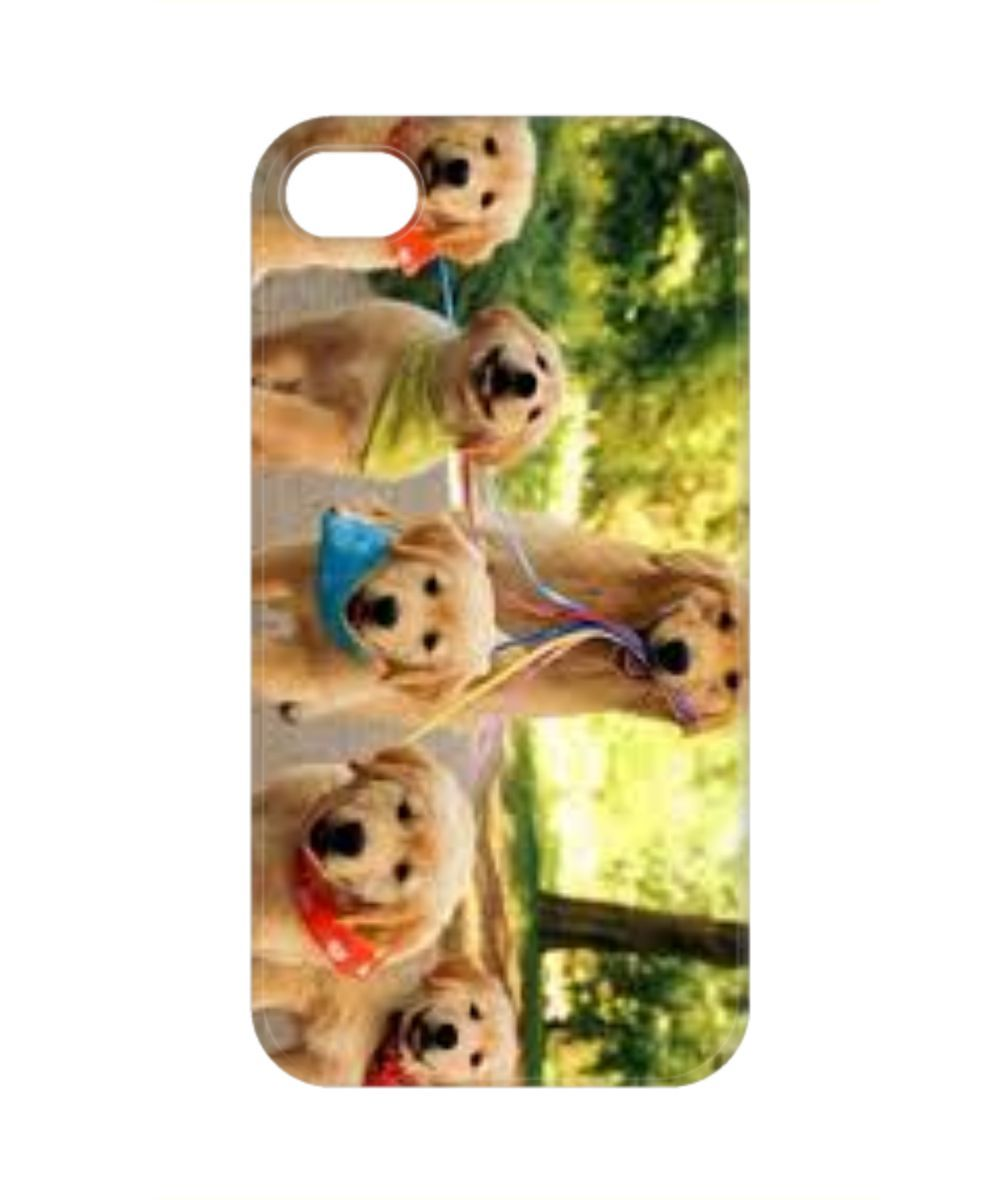 iPHONE 4/4S CASE MOM & PUPS mompups