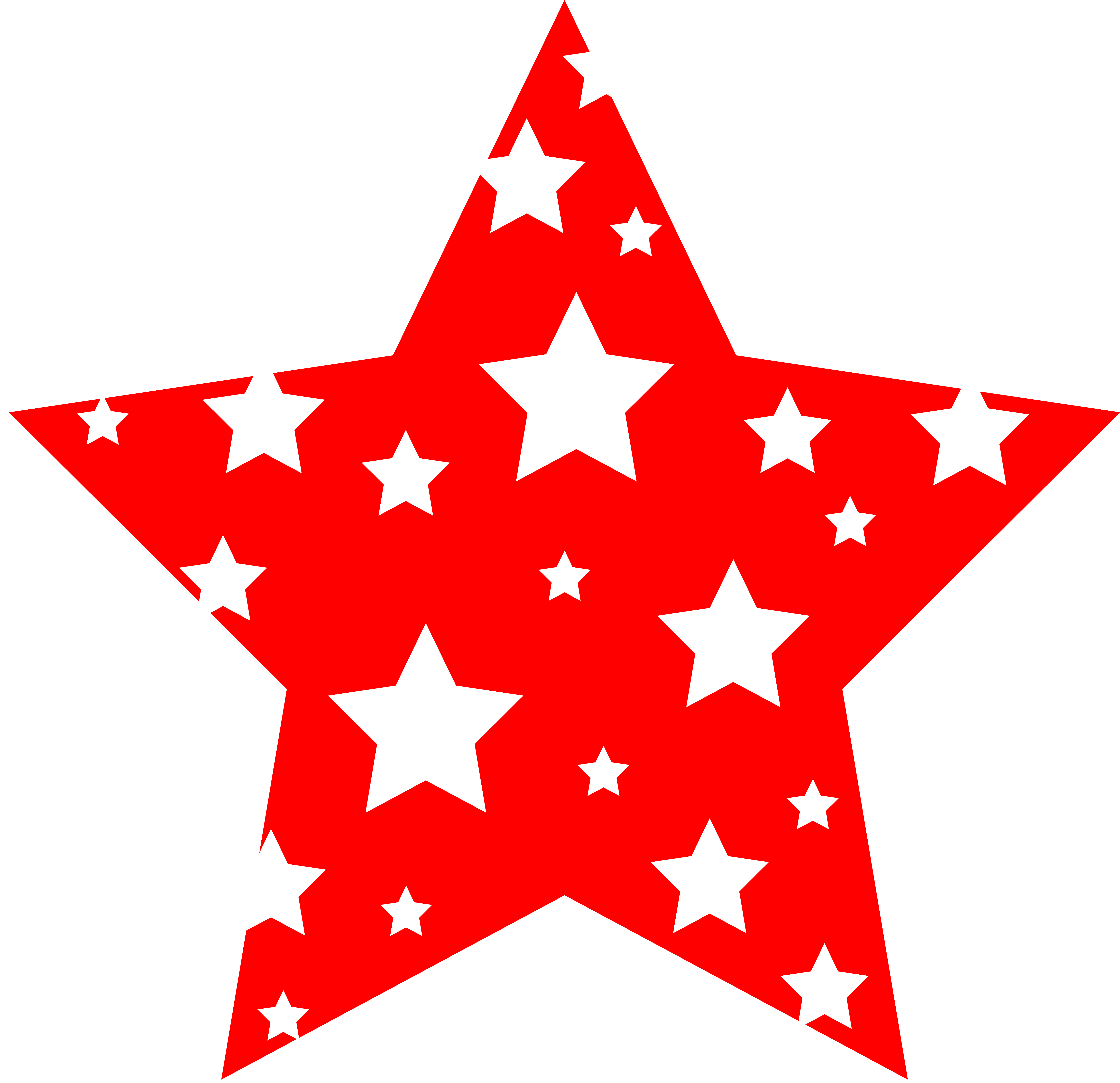 Gold Stars Decoration PNG Clipart Picture Star