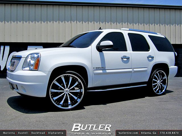 Gmc Denali With 26in Lexani Lss10 Wheels Gmc Denali Gmc Classy