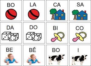 Ficha Do Jogo Das Palavras Com A Figura E Silaba Atividades De Alfabetizacao Jogo Das Silabas Alfabetizacao