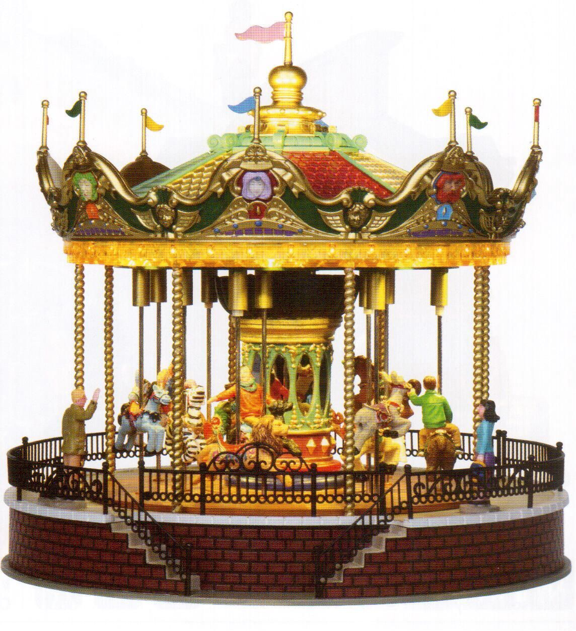 Small Carousel Music Box Music Boxes