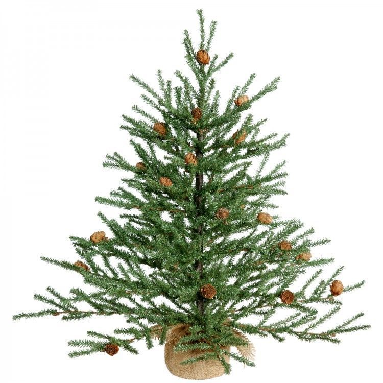 Christmas Tree 2 ft Unlit Xmas Indoor Home Decorations Trees Lights