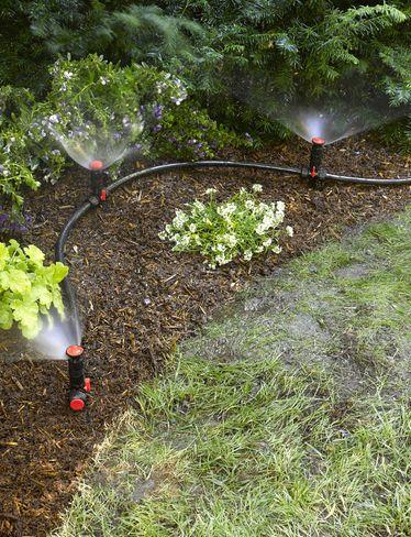 Snip-n-Spray Garden and Landscape Sprinkler System paisajes y - paisajes jardines