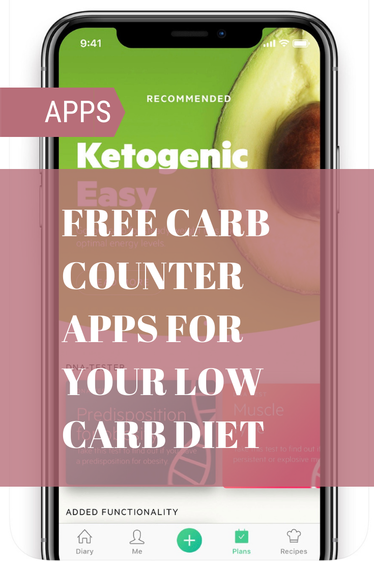 Free carb counter apps for your lowcarb diet. Carb