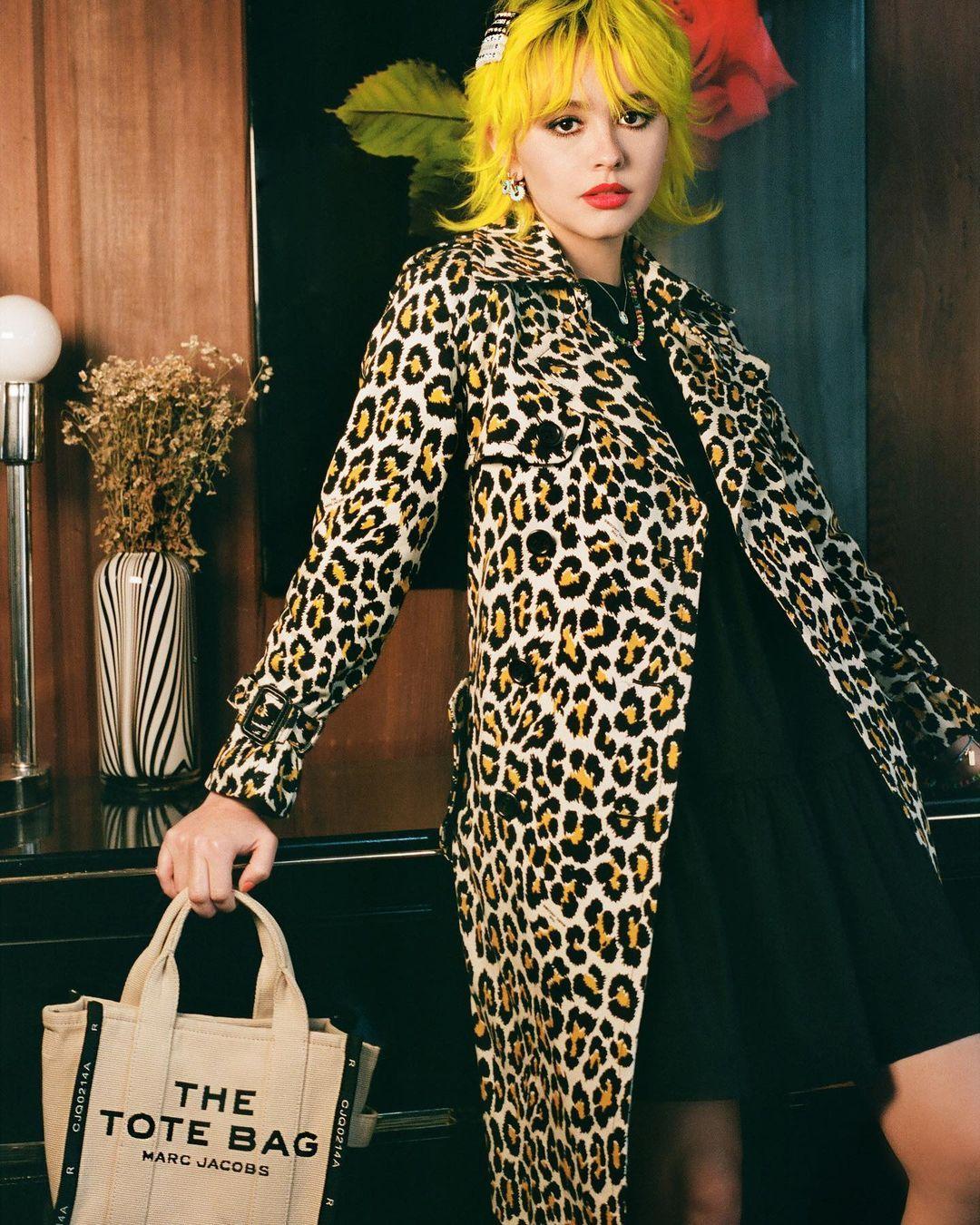 """Marc Jacobs on Instagram: """"Enya wears THE JACQUARD MINI TRAVELER ..."""