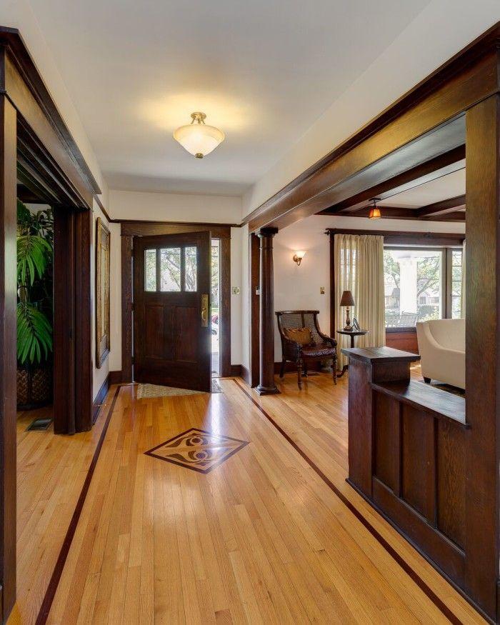 Interieur I Binnenkijken I Moderne Bungalow In Ermelo: A 1908 Craftsman With Gorgeous Woodwork In Pasadena