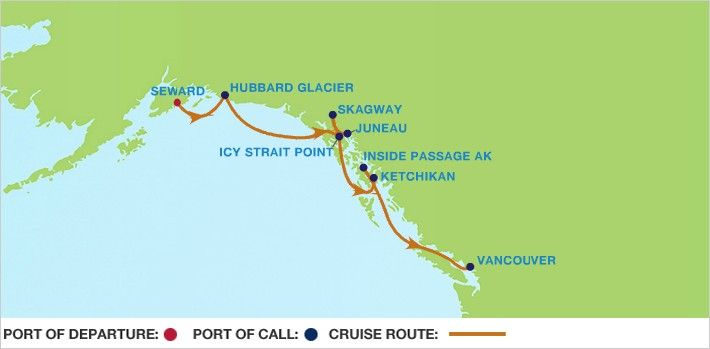 Inside Passage Cruise Discounts: Celebrity Solstice