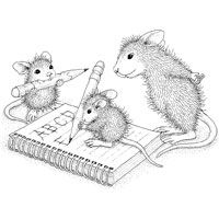 house mouse rubber stamps sale - Google zoeken