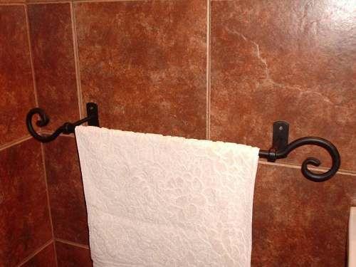 Toallero Para Baño En Hierro Forjado -   636 b8f4778a6d86