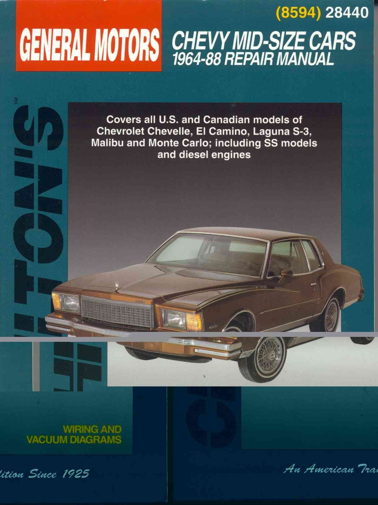 Chiltons general motors chevy mid size cars 1964 88 repair chiltons general motors chevy mid size cars 1964 88 repair manual paperback by precision series fandeluxe Choice Image