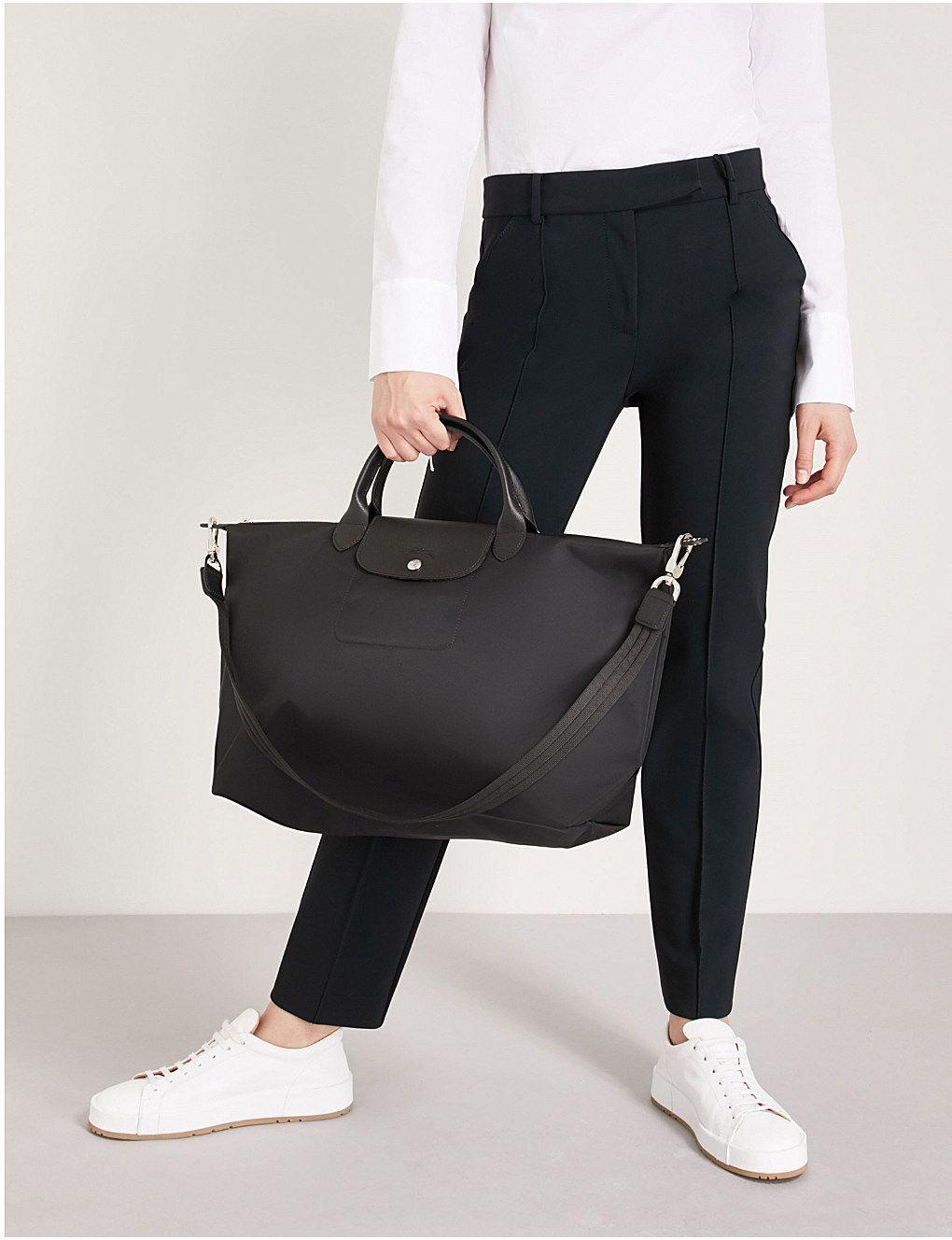 LONGCHAMP - Le Pliage Neo large handbag   Selfridges.com   AffordableLeatherHandbags 0f22559aa5