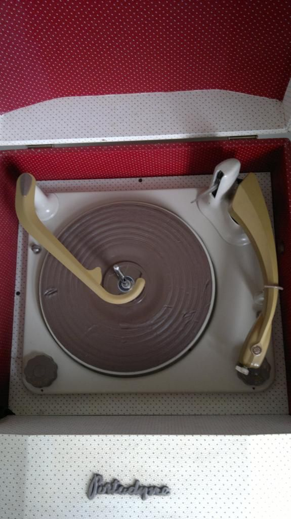 Portadyne Record Player | Vinyl and turntable envy | Pinterest