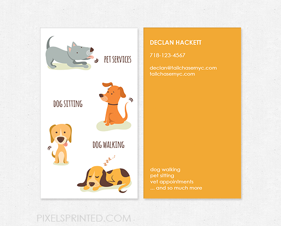 dog walking business cards images business card template