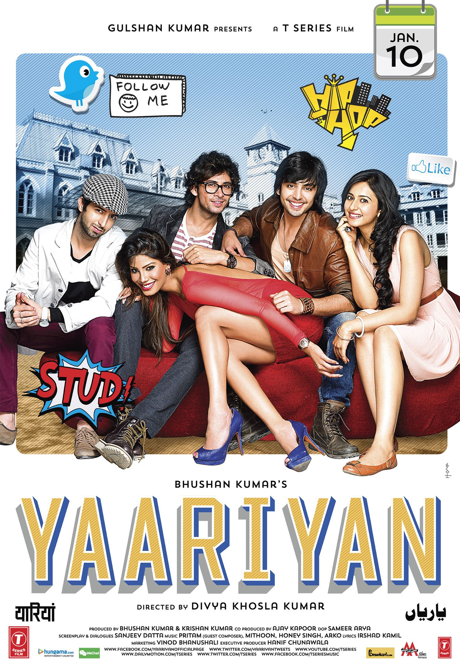 Yaariyan Movies 2014, Hd Movies, Movie Songs, Films, Watch Hindi Movies  Online