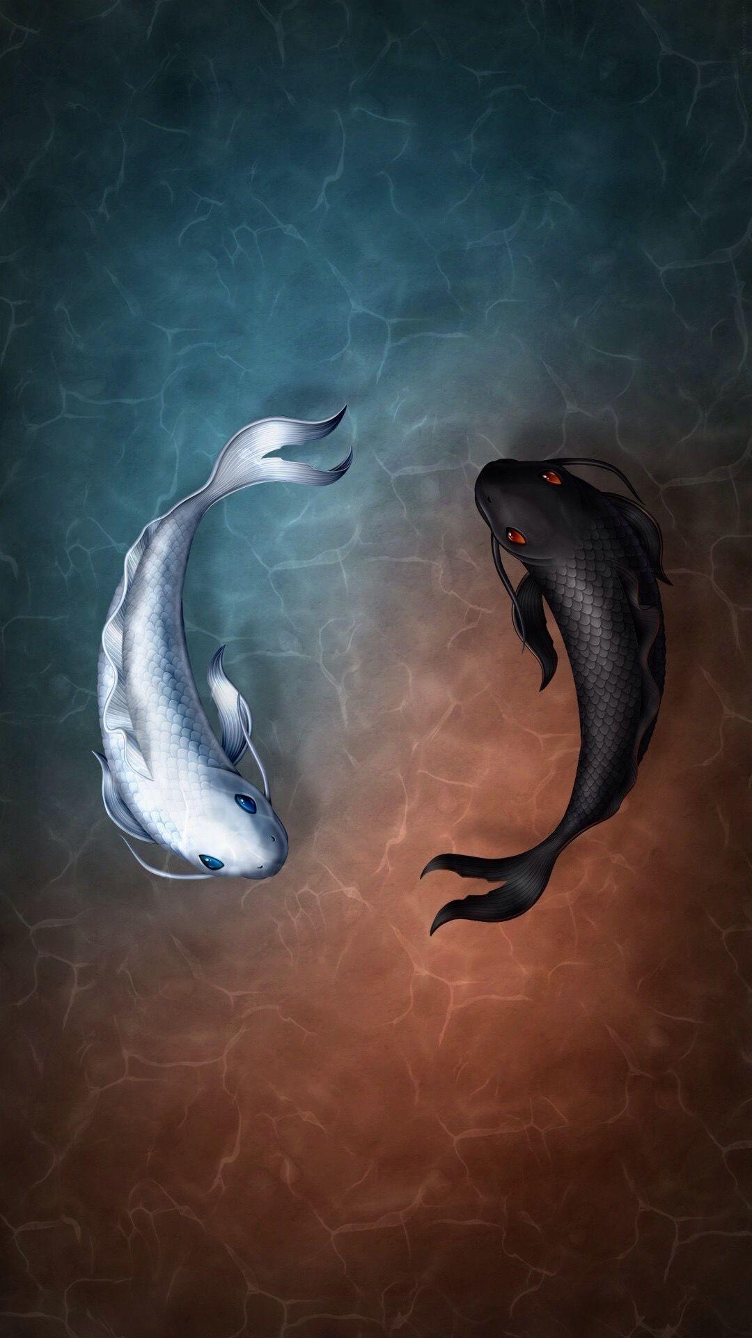 Pin by Jay on Art Fish wallpaper, Koi, Koi fish