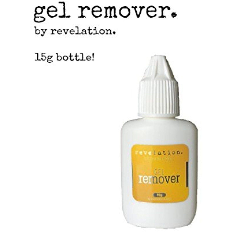Eyelash extension gel remover 15g by revelation