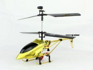 Falcon VII 8827 3 Channel Micro RC Helicopter With Buid-in Gyro by Falcon. $89.95. 360 Degree Full Function Control. Fly Up,Down,Forward, Backward, Left, Right, Hover. Doule Blade System Makes it easy to fly for Beginners. Made of Anti-Crash Material. Upgrate Alloy Helicopter Structure extend fly time. Falcon VII 8827 3 Channel Micro RC Helicopter Features:      360 Degree Full Function Control     Fly Up,Down,Forward, Backward, Left, Right, Hover     Made of Anti-Crash Mater...