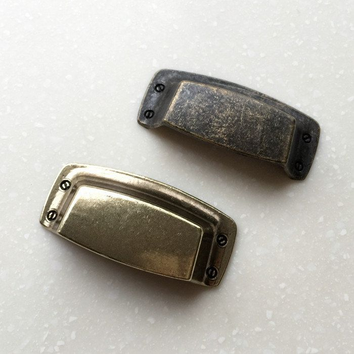 Dresser Pull Drawer Pulls Cup Handles Knobs Rustic Antique Bronze ...