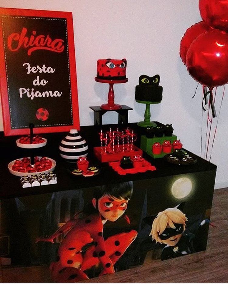 decoracion ladybug | abril | Miraculous ladybug party ...