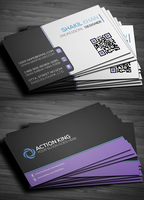Corporate Business Card and Design. Print Business Cards at www ...