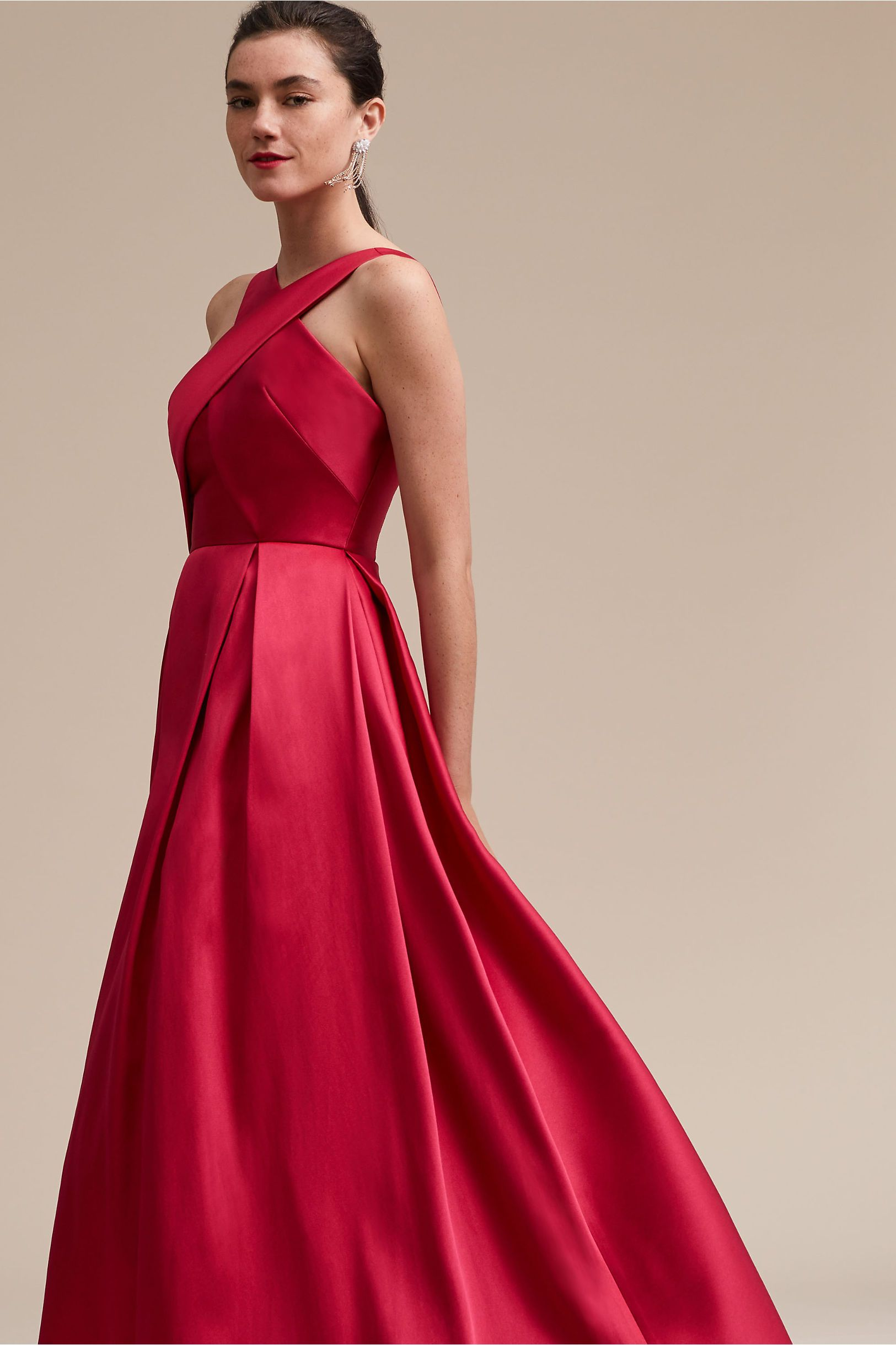 4512bc681fdf BHLDN s Ml Monique Lhuillier Henderson Dress in Cerise