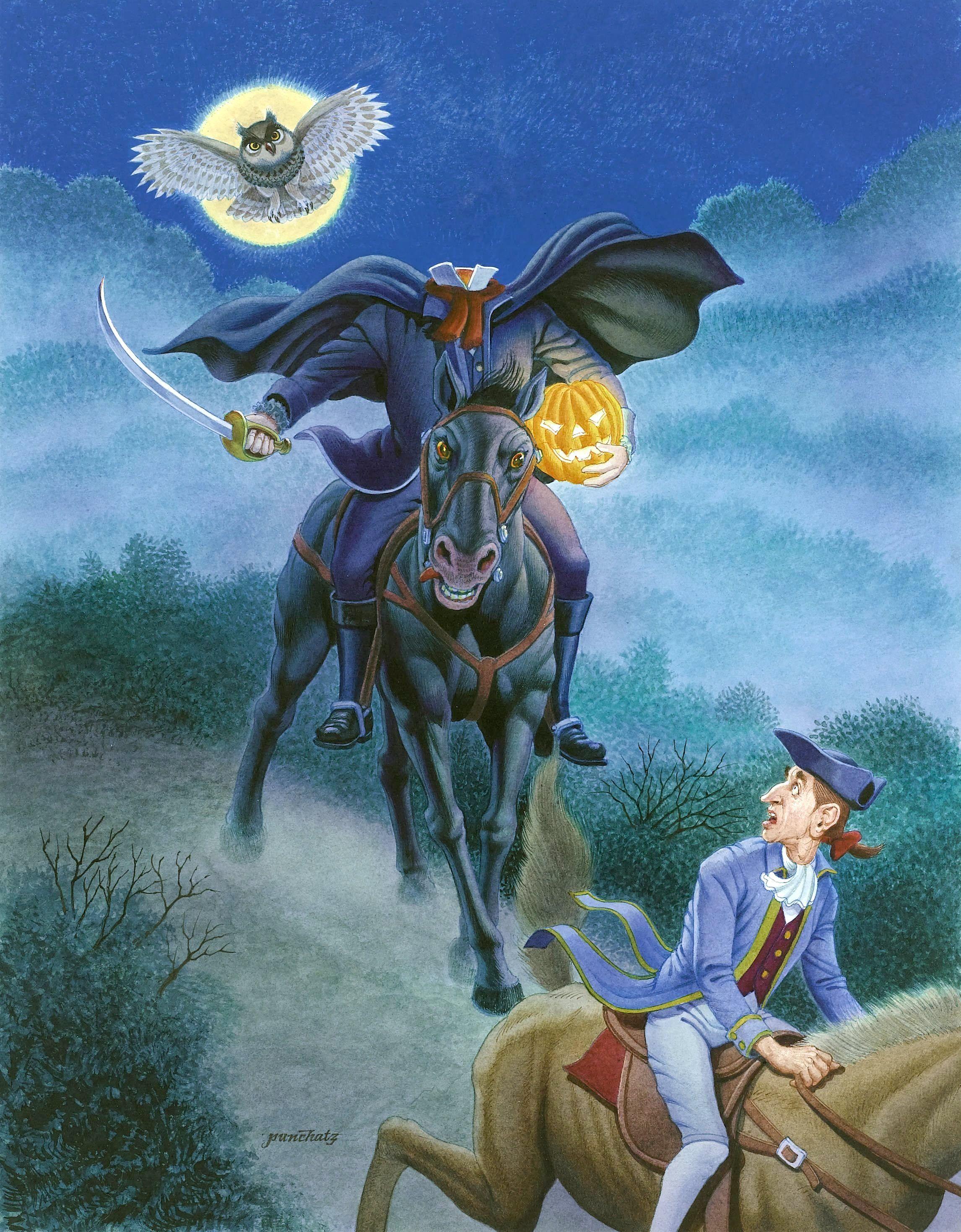 Headless Horseman: ana karakterler, kısa açıklama