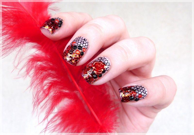 Nailart Blogparade Ready, Set, Polish! - Burlesque