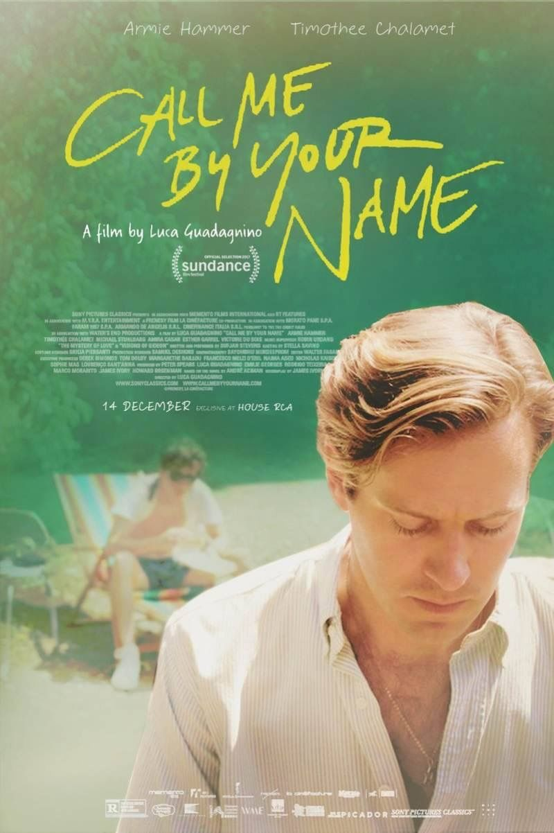 Thai poster for Call Me By Your Name exclusively at House RCA ...