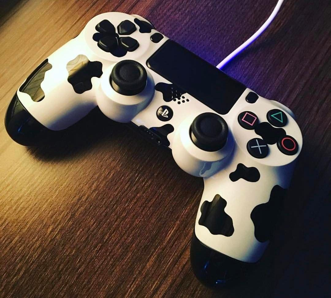 The Cow Controller Ps4 Playstation Playstation4 Ps4share Psvr Playstationplus Controller Ps4con Ps4 Controller Playstation Controller Dualshock