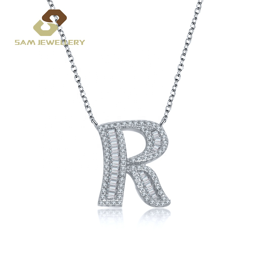 Agent 2019 Wholesale Sterling 925 Silver Women S Letter R Initial Necklace Jewelry Buy R Necklace Single Silver 925 Necklace Initial Necklace Silver Necklace