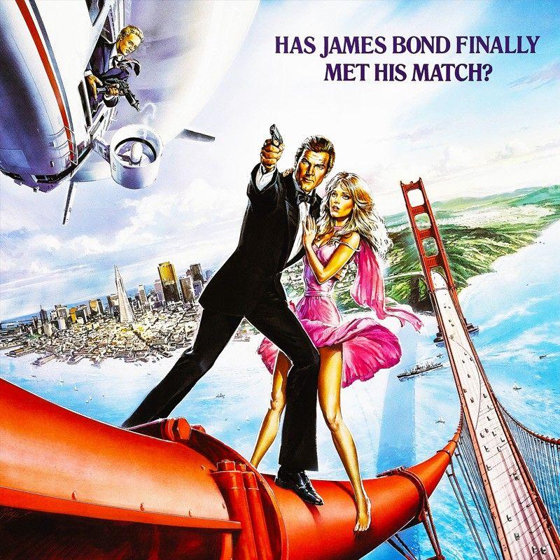 James Bond View To A Kill Movie Poster T Shirt This James Bond