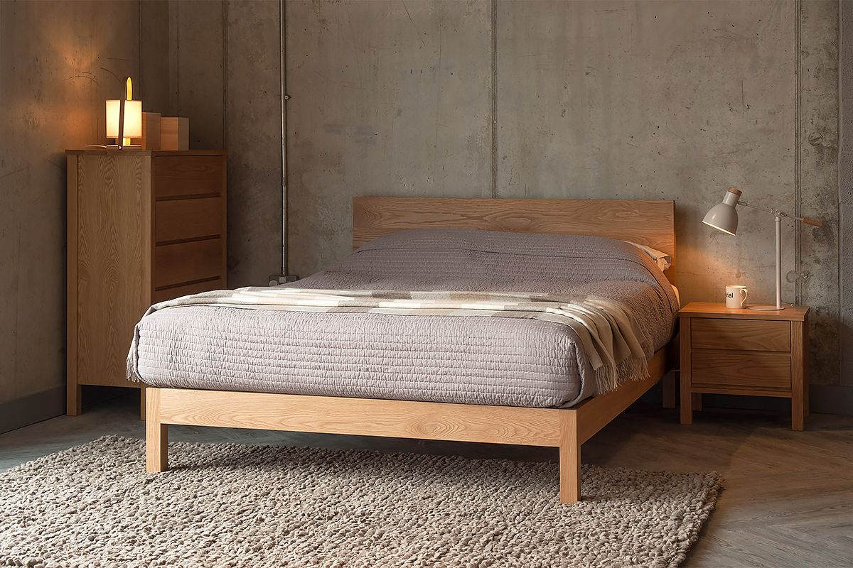 Solid Oak Shaker Style Bedroom Furniture | Renovations | Painted bed ...