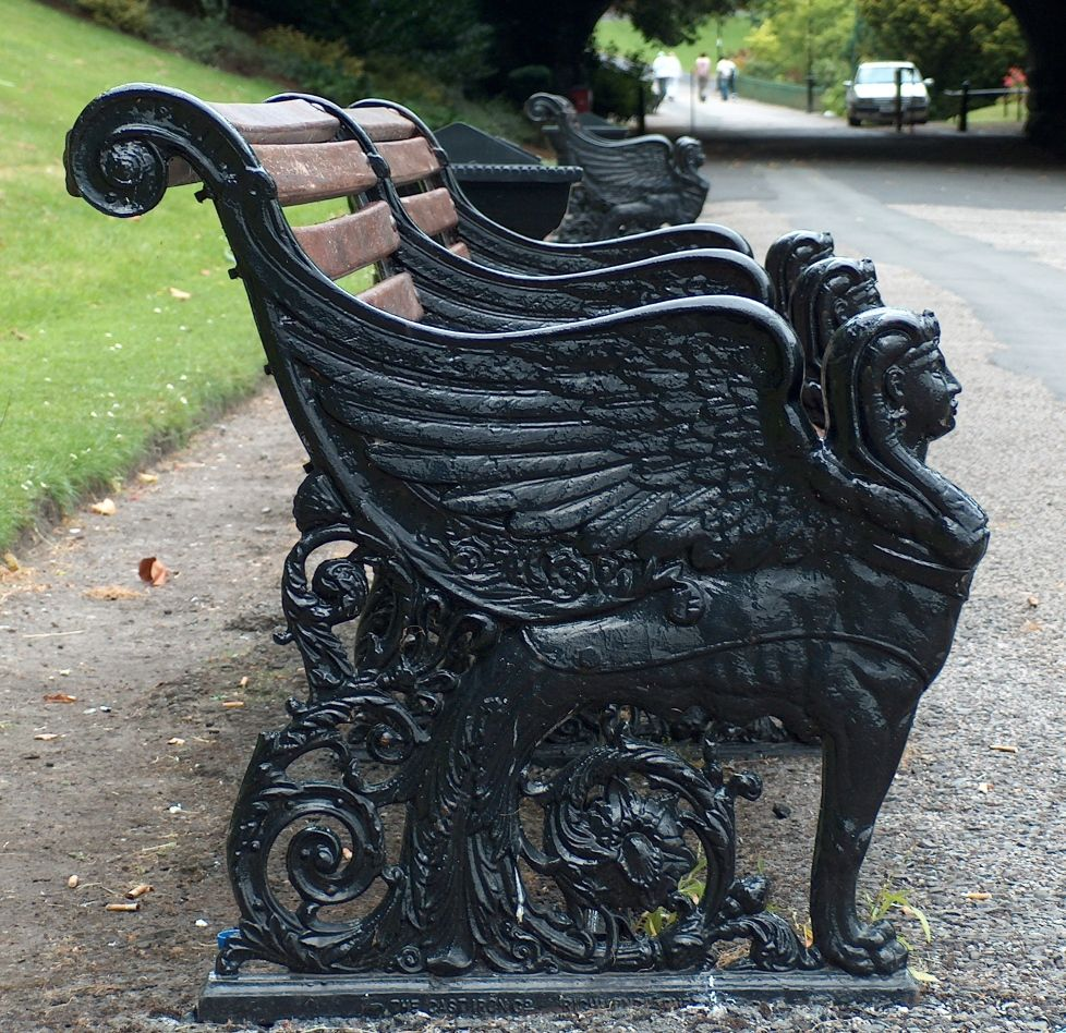 Sphinx bench by Cleopatra's Needle - Google Search