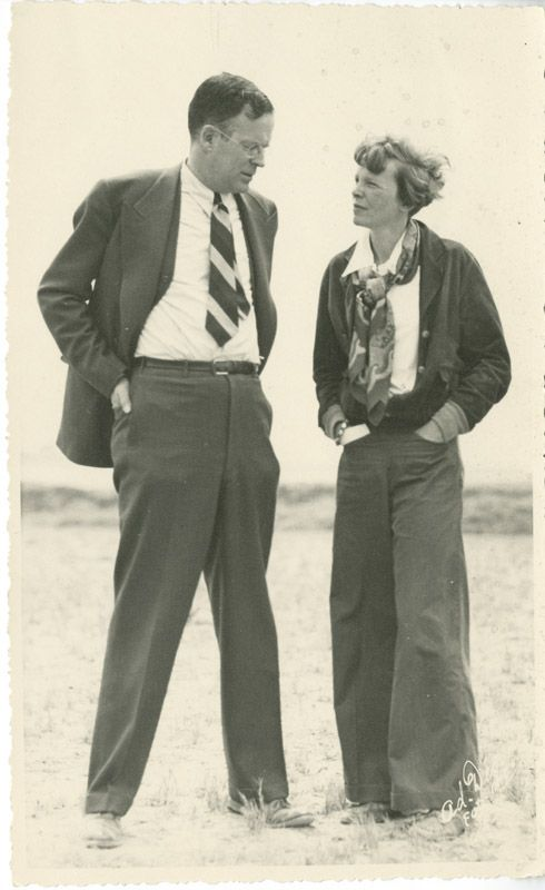 amelia earhart and george palmer putnam my wife flies also she  amelia earhart and george palmer putnam my wife flies also she writes