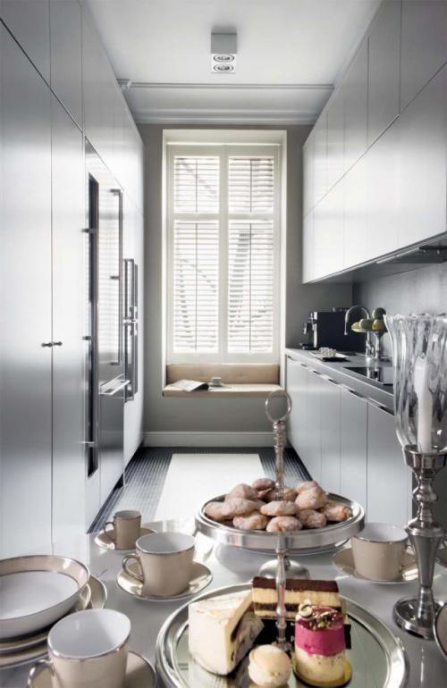 Apartament Maciej Zienia Modern Kitchen Kitchen Kitchen Appliances