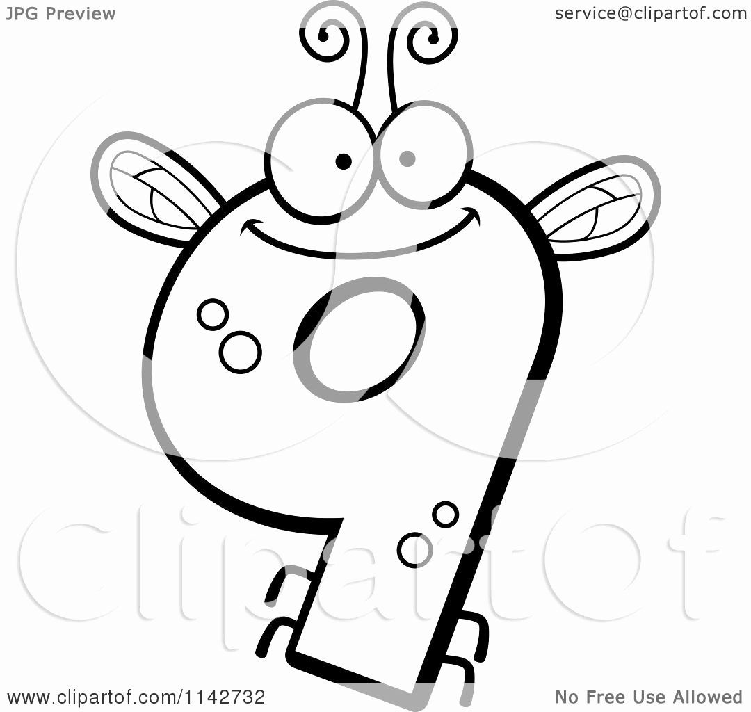 Number 9 Coloring Page Unique Cartoon Clipart A Black And White Bug Number 9 Vector Coloring Pages Paw Patrol Coloring Pages Printable Coloring Pages