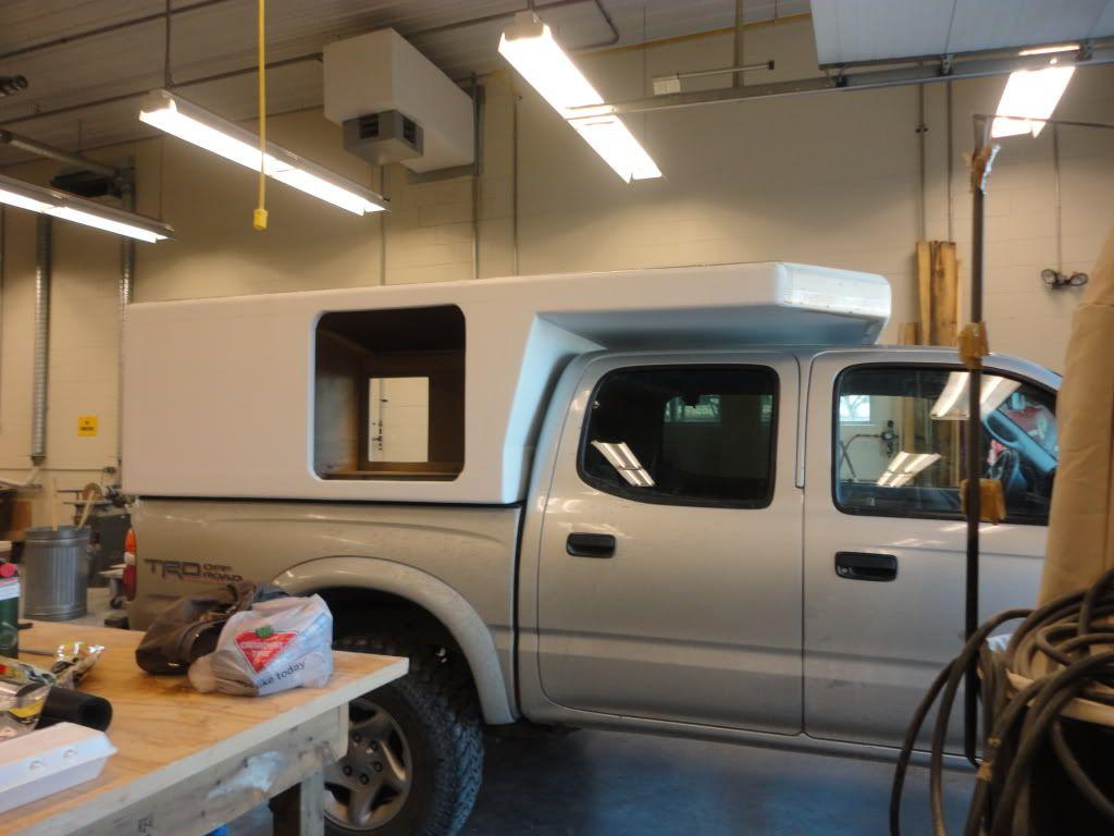 Truck Camper Plans Build Yourself: Pop-up A-frame Camper....La Roulotte