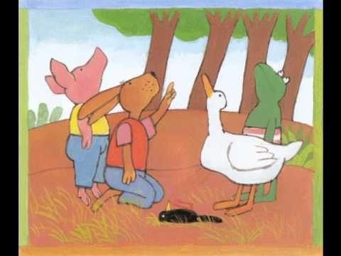kikker en het vogeltje