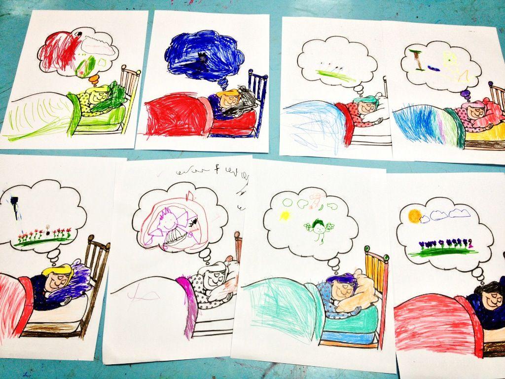 كل طفل يرسم حلمة Handicraft Art Comics