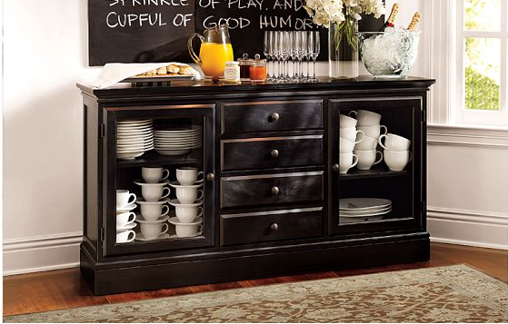 Most Pinned Lals 4 Pottery Barn Tucker Buffet Black