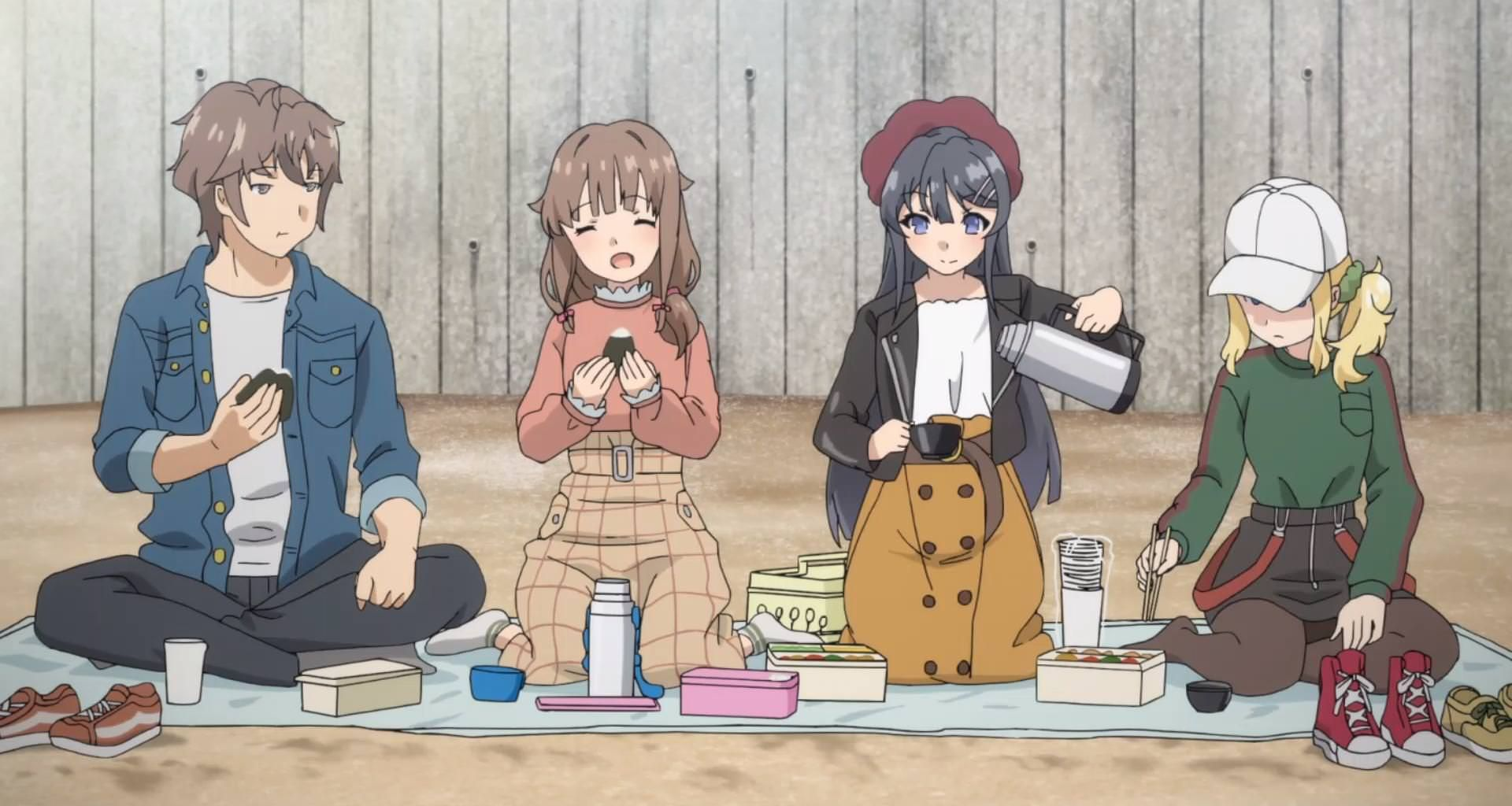 Seishun Buta Yarou Wa Bunny Girl Senpai No Yume Wo Minai Episode 11 Discussion 50 Forums Myanimelist Net Bunny Girl Anime Senpai
