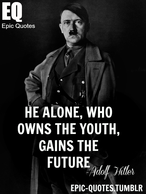 Citaten Hitler Xiaomi : This is a quote from adolf hitler talking about the
