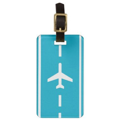 Runway Runaway Funny Creative Luggage Tag  Template Gifts Custom