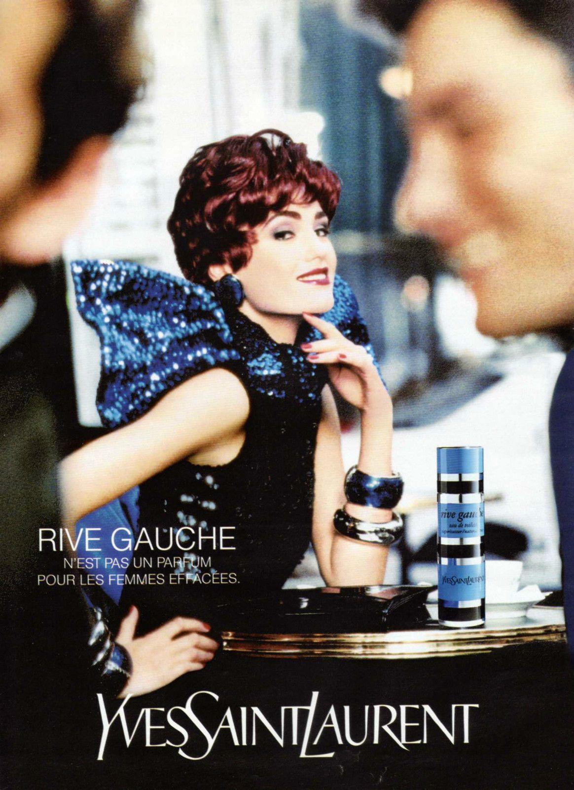 Yves Saint 1992 Publicite Parfum Laurent Gauche Clipping Rive N0ymwO8vn