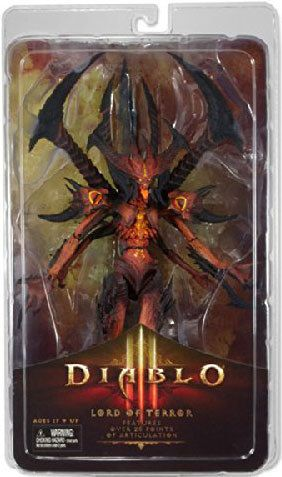 NECA Diablo III Diablo Lord of Terror Action Figure