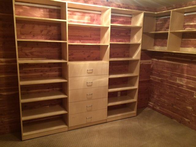 Elegant Hereu0027s A Beautiful Custom Cedar #closet We Built For A Client. #storage