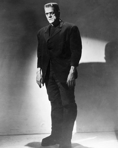 Karloff as The Monster