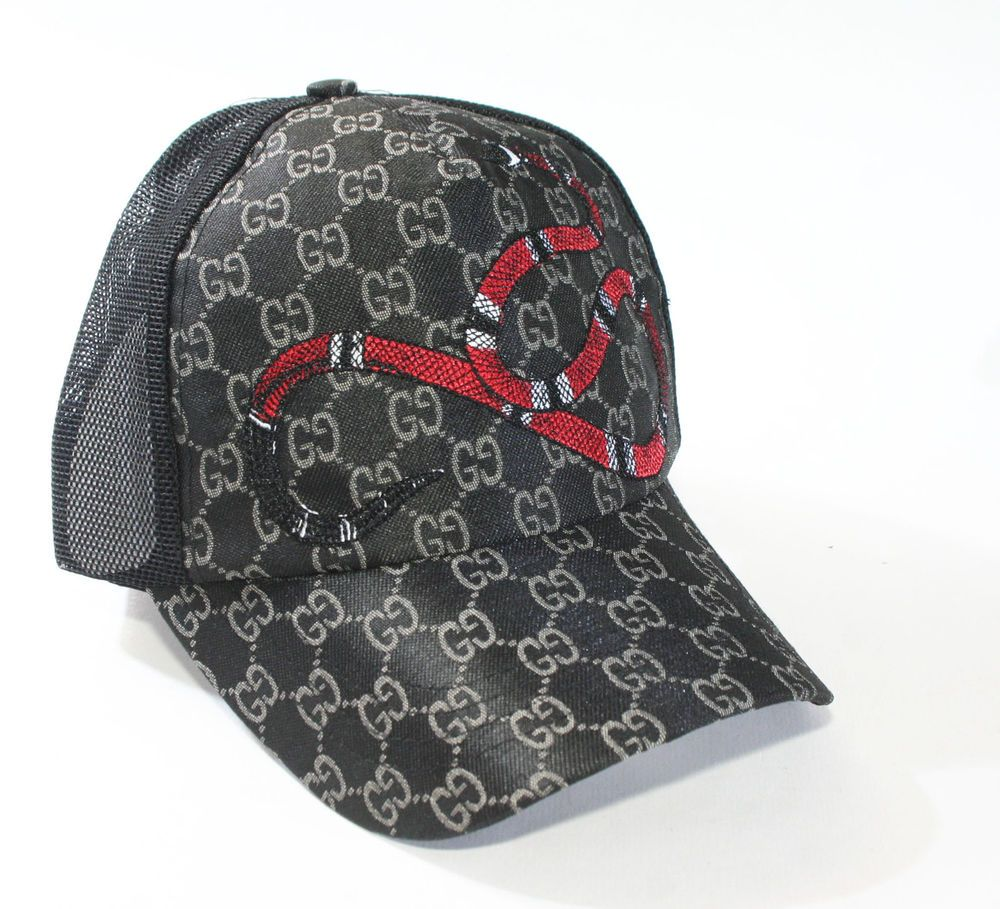 f616b9f85d2 Gucci Snake GG Monogram Design Sizable BaseBall Cap  fashion  clothing   shoes  accessories  mensaccessories  hats (ebay link)