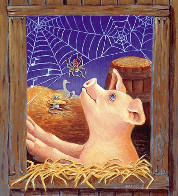 Unbelievably banned #3 Charlotte's Web by E. B. White White's heartfelt tale of  a spider and pig, has been drawing children in for half a century.  However, some people would rather this title never see the light of day. In one extreme case, a school in England banned Charlotte's Web for fear that the pig Wilbur might be offensive to Muslim students. Fortunately, the Muslim Council of Britain saw the folly of this ban: all pig books, were quickly restored to their rightful place.
