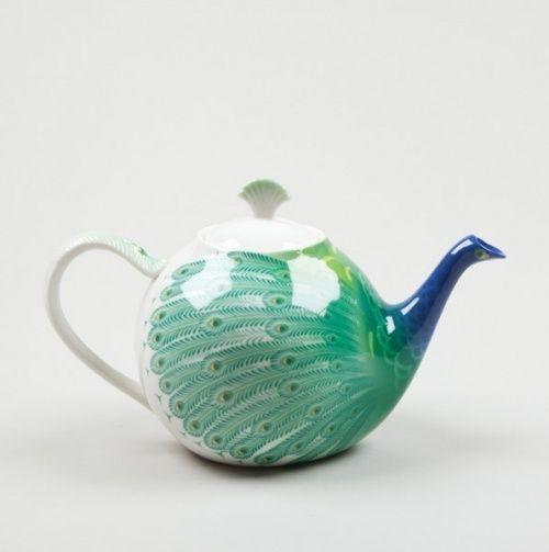 Peacock Teapot Teteras De Ceramica Tetera De Porcelana Teteras